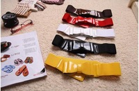 Free Shipping  bow belt / girdle Waistband Waist Multicolor Fashion vintage lady's Cute Style 2pcs/lot