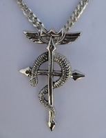 Free shipping! FullMetal Alchemist Metal Necklace Anime Cosplay