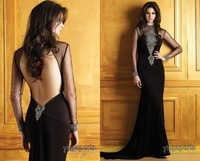 Charming Chiffon Double V Formal Gown Long maxi Evening...