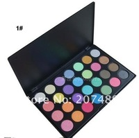 28 full color makeup shimmer eyeshadow palette eye shadow professional comestics set NATURAL Portable beauty wholesale