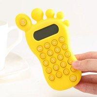 Foot finger shaped calculator/novelty calculator Free shipping 3 pcs/lot