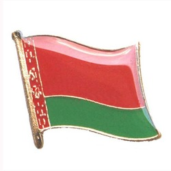 16mm, Belarus single pin, iron, craft: painted &amp; epoxy surface,1pcs/plastic bag, MOQ: 300pcs, accept customized, free shipping(China (Mainland))