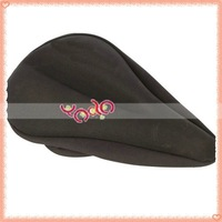 Free Shipping!Bicycle Saddle Cover Mountain Bike Seat Cover Black New 10pcs/lot Q00446BL