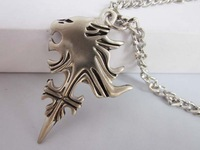 Final Fantasy Lion Heart Pendant Necklace Cosplay