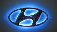 option one,car logo light for HYUNDAI Tucson / IX35 ,car badge lamp,auto led light,auto emblem led lamp