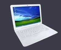 New arrival!14 inch Intel D2500 dual core notebook computer,camera,wifi,windows 7 laptop