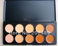 10 full color makeup cream palettes professional comestics set  eyes Facial Camouflage concealers grooming