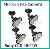 Mirror style hidden CCTV Camera Board lens 3.6mm Sony 1/3'' Super HAD Color CCD 480TVL Covert Camera Vedio equipment,4pcs/lot