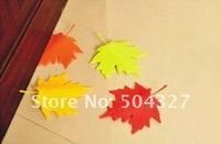 EMS Free shipping 20 Pcs Autumn Door Stopper Maple leaf Door Stopper