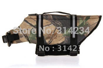 $15 off per $150 order For big dog Camouflage  dog life vest XL size  retail  good quality camo life jacket FREE SHIPPING