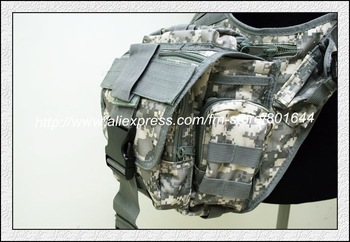 MOLLE Shoulder Bag ,5colors-ACU +free shipping