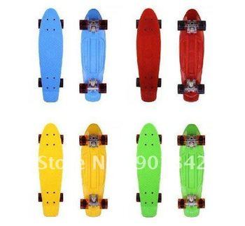 Free Shipping *NEW*Fish Board Mini Cruiser Skateboard Penny Board Dropshipping!