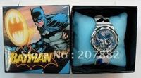 Free Shipping !Fashion Cartoon Wristwatch Batman Children Watch A0550 On Sale Wholesale & Drop Shipping