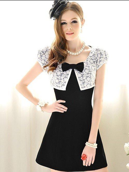 Fashion Blog: Black And White Dresses For Women