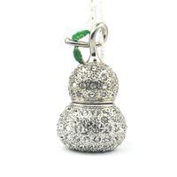 Bottle Gourd Shape 4/ 8/16GB Necklace Jewelry USB Flash Drive Flash Memory U disk usb 2.0,Free Shipping +1pcs/lot