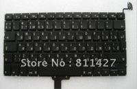 Wholesale free shipping brand new original laptop keyboard for APPLE  A1278  13.3inch MACBOOK RU