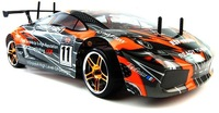 2.4G top versions 1/10th scale on road drifting car with LED light 3600mah battery pack