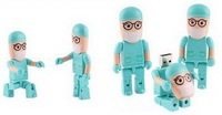10pcs/lot FREE SHIPPNG   transformable doctor 4GB 8GB 16GB 32GB USB FLASH drive