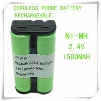 FREE SHIPPING Cordless phone battery 2.4V  CPH-485 FOR 2.4 GHZ ATT 2401