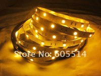 [Seven Neon]Free shipping 5meters non-waterproof warm white 30leds/meter 150leds 5050 led smd strip