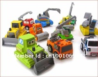 Wholesale - Small Back Force Small Car Project Car Excavators Taxi Model Baby Toys, Children's Toys