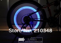 Bicycle Valve Caps Light Tyre or Wheel lights bicycle flashlight  Neon LED Lamp 4 colors 5pcs/lot free shipping