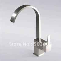 Nickel Brushed Finish Brass Kitchen&Sink Mixer Tap Faucet K-525 Mixer Tap Faucet Mixer Tap Faucet