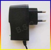 Europe plug, EU 6V 1A 1000mA AC/DC POWER SUPPLY ADAPTER 5.5mm * 2.1mm + Free shipping