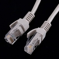 Free Shipping 15M 50FT CAT5 RJ45 Ethernet Network Patch Cable, 7pcs/lot