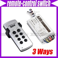 Digital Remote Control Switch Light Lamp Bulb 4 Ways Channels #2428