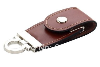 free shipping NEW pu leather 2GB 4GB 8GB 16GB 32GB USB 2.0 Memory flash disk Flash Drive drop shipping