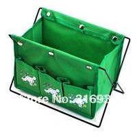 F2 Free Shipping,Mini debris storage basket with 3 pockets,foldable,  random delivery, 1pc