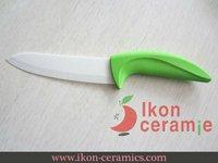 """Free Shipping! High Quality Zirconia New 100% Ceramic Knife - 6"""" Ikon Ceramic Chef Knife(AJ-6001W-GG)"""
