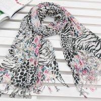 leopard pattern scarf/shawl/scarves, free shipping,860742