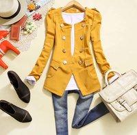 free shipping New fashion women lace pearl o-neck denim jacket lady slim sweet short outerwear women coat