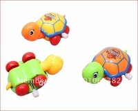 Wholesale - Winding toys , cute little turtle back toys , will crawl , will be chasing its tail children's toys   Random color