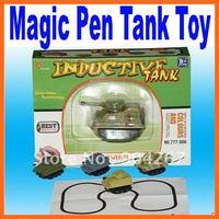 Mini Magic Pen Inductive Fangle Children's Tank Toy Car Free Shipping