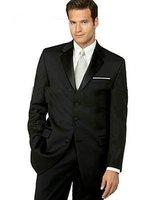 Three Button Men Suit, Brand Men Suit, Black Men Suit   BEST QWE234 TOP