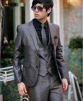 New Men's western style business suit clothing 2 Buttons many colors to choose---WQ19