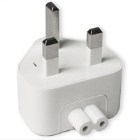 200pcs/lot Wall AC Power Adapter UK  Plug Head For MACBOOK IPAD AC Charger Magsafe