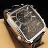 free shipping Fashion V6 Hand Dial watch for Men,Analog Quartz Sport Watch Hot selling gift watch