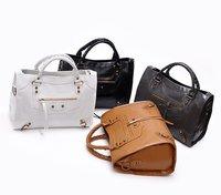 HB722 Elegant Womens 8 colors  motorcycle bag Messager bag Shoulder Satchel BAG free shipping