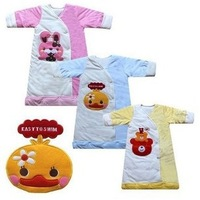 baby velvet+cotton  chicken sleepsacks/ air conditioning sleeping bag/baby pajamas