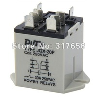 Safe ship,JQX-30F 30A Power Relay 220V AC 8-Pin Plug In Type Motor Control,High Power