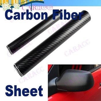 "Hot selling 24"" x 60""BL Vinyl 3D Carbon Fiber Twill-Weave Cell Phone Mirror Truck Car Sticker 3286"