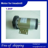 Free Shipping,1.0HP gear motor DC motor for treadmill