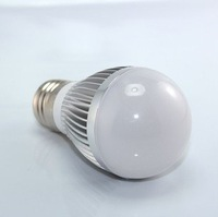 3W E27 holder LED bulb for indoor lighting