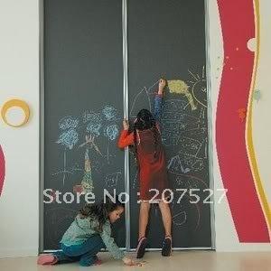 Blackboard Removable Vinyl Sticker chalkboard Decal Peel & Stick on wall paper