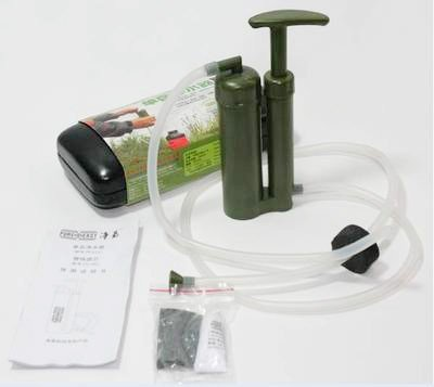 New Soldier's Camping Hiking Portable Water Filter Cleaning Purifier(China (Mainland))