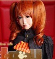 ~Sound Horizon.966.2 chip ponytails orange cosplay anime wig,free shipping
